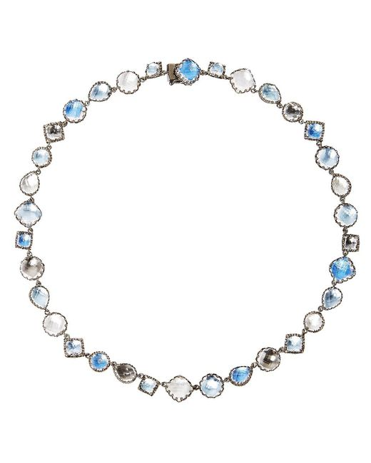 Larkspur & Hawk - Metallic Small Sadie Riviere Necklace - Lyst