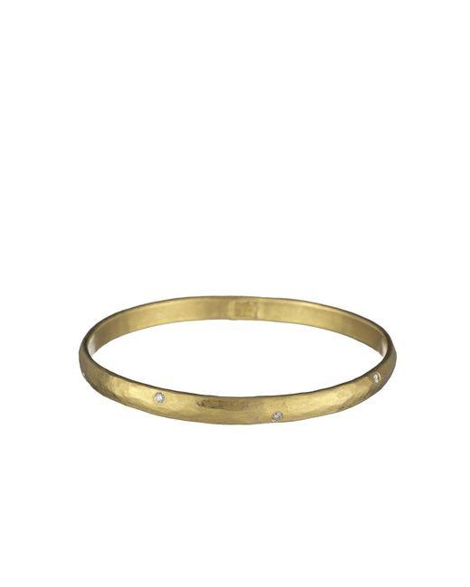 Yossi Harari - Yellow Mica Medium Bangle With Diamonds - Lyst
