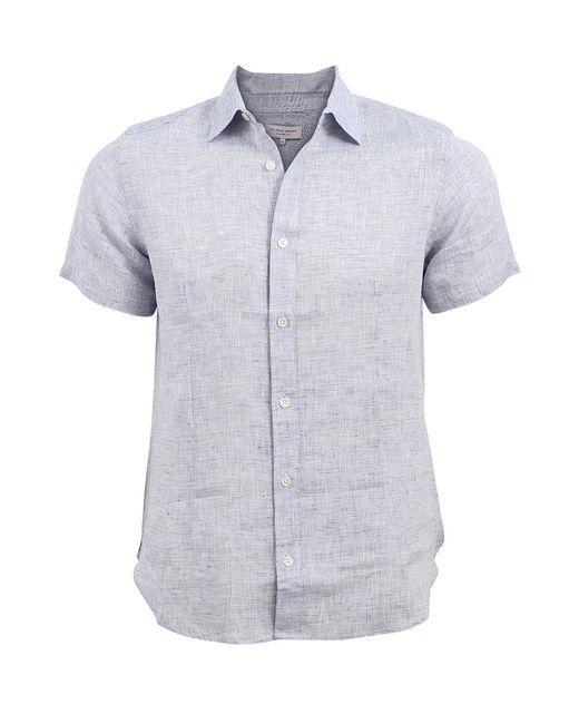 Orlebar Brown   Blue Meden Shirt for Men   Lyst