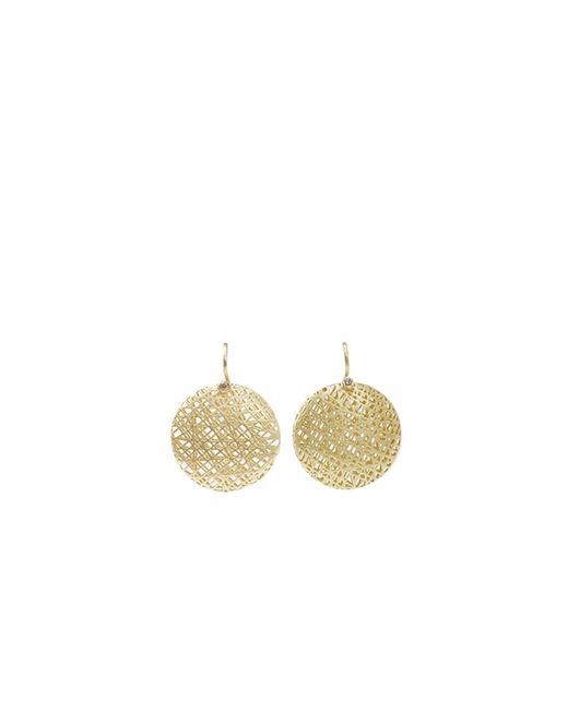 Yossi Harari | Metallic Medium Lace Earrings | Lyst