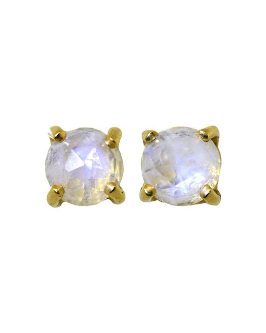 Irene Neuwirth - Multicolor Rainbow Moonstone Stud Earrings - Lyst