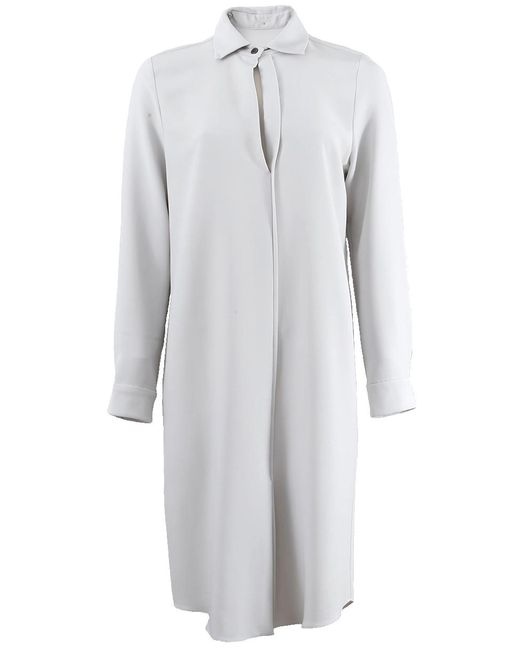 Peter Cohen | White Collared Oxford Dress | Lyst