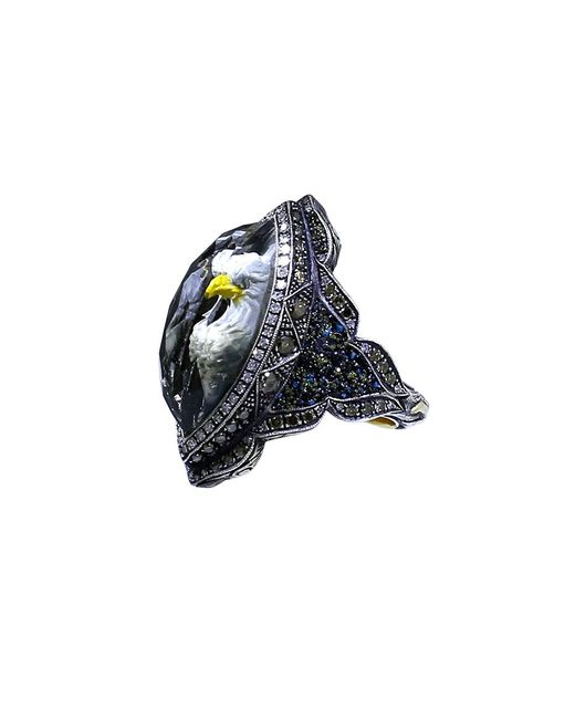 Sevan Biçakci | Blue Carved Eagle Diamond Ring | Lyst