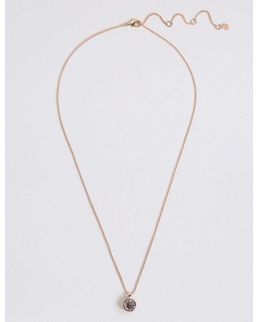 Marks & Spencer - Metallic Maid Of Honour Necklace - Lyst