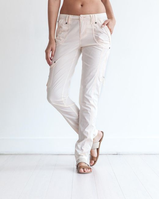 Marrakech | Natural Harry Stretch Poplin Pant | Lyst