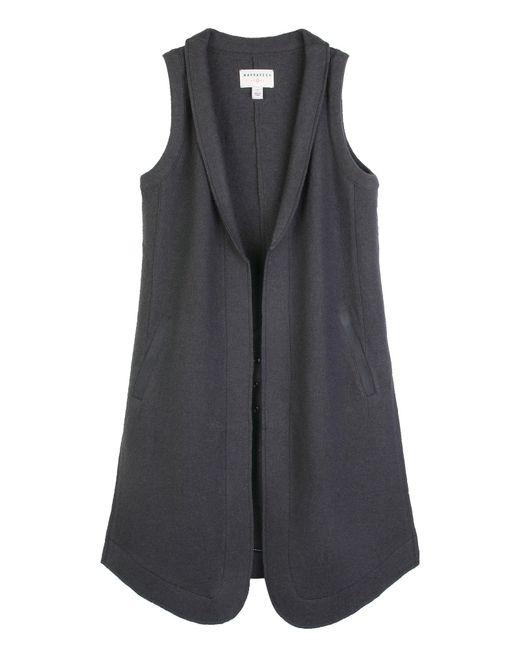 Marrakech | Gray Azure Wool Vest | Lyst