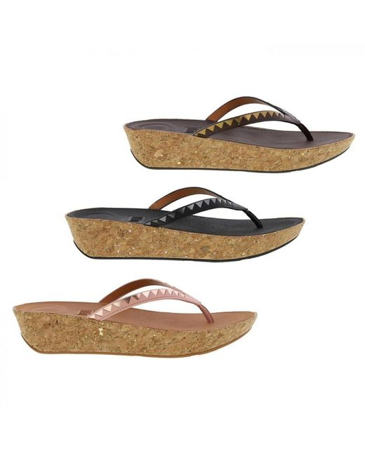 Fitflop - Multicolor Linny Toe Post Sandals - Lyst