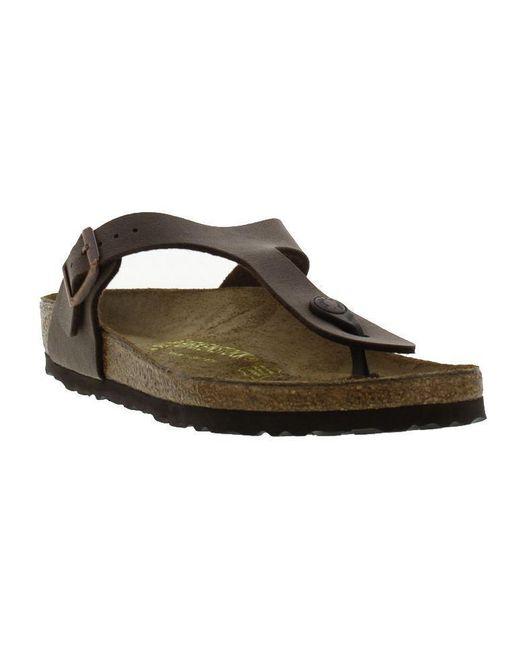 Birkenstock - Multicolor Gizeh Flip Flop Sandals Regular Fit - Lyst