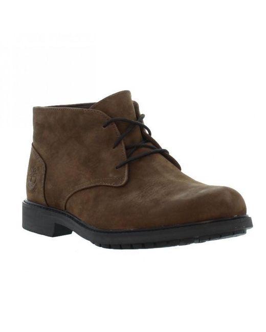3e3edc79c1a43 Timberland - Earthkeeper Stormbuck Chukka Waterproof Boots - Brown for Men  - Lyst ...
