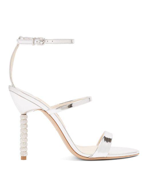 Sophia Webster - Multicolor Rosalind Crystal-heel Leather Sandals - Lyst