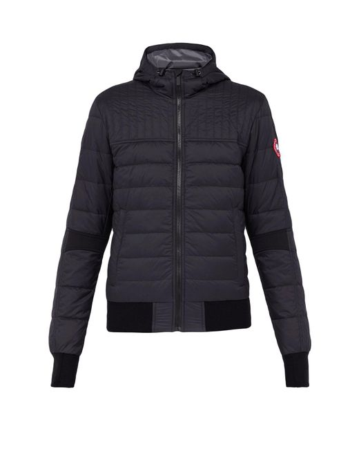 Canada Goose - Black Cabri Quilted Hooded Jacket for Men - Lyst