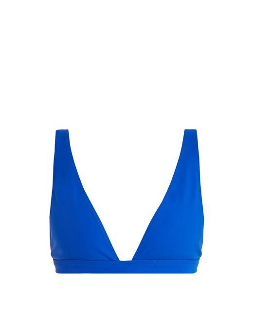 Rochelle Sara - Blue The Enga V Neck Bikini Top - Lyst