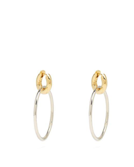 Spinelli Kilcollin - Metallic Casseus Silver & Yellow Gold Earrings - Lyst