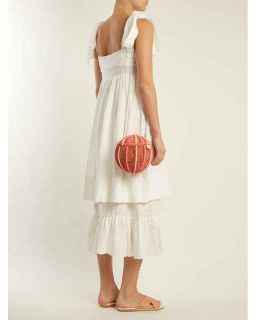 Marianne linen dress Three Graces London T3mESkoNRD
