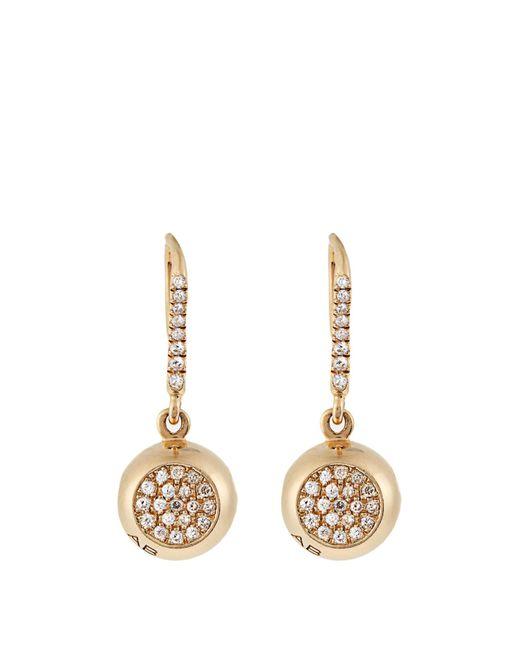 Aurelie Bidermann | Metallic Soho Gold-Plated Hoop Earrings | Lyst
