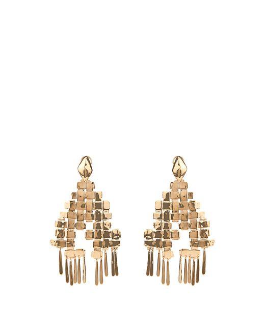 Aurelie Bidermann | Metallic Marella Dangling Yellow-gold Plated Earrings | Lyst