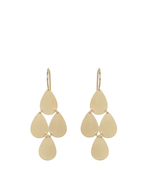 Irene Neuwirth | Metallic Yellow-gold Chandelier Earrings | Lyst