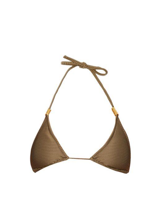 Heidi Klein   Natural Manda Island Triangle Bikini Top   Lyst