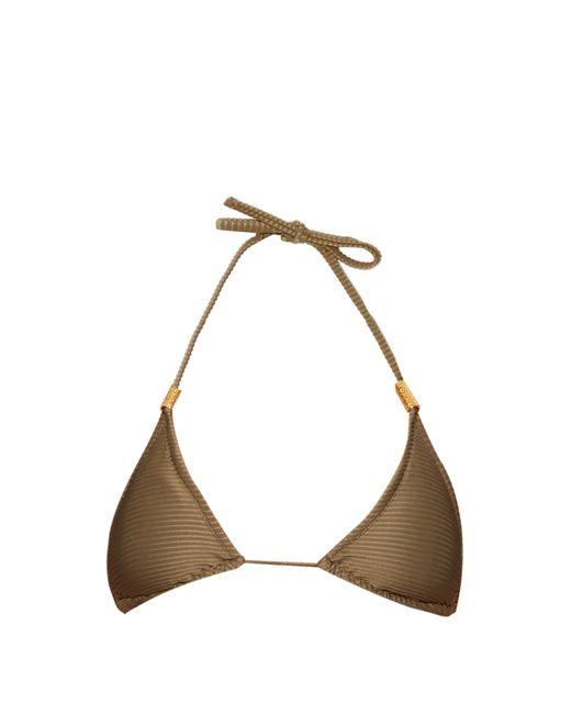 Heidi Klein | Natural Manda Island Triangle Bikini Top | Lyst