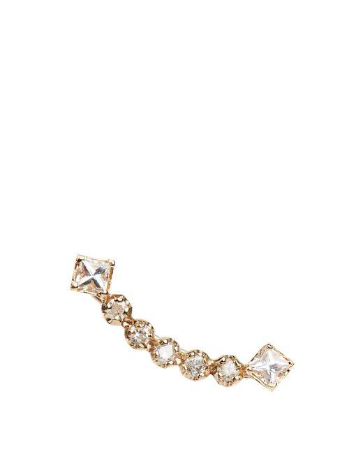 Loren Stewart | Metallic Sapphire & Yellow-gold Earring | Lyst