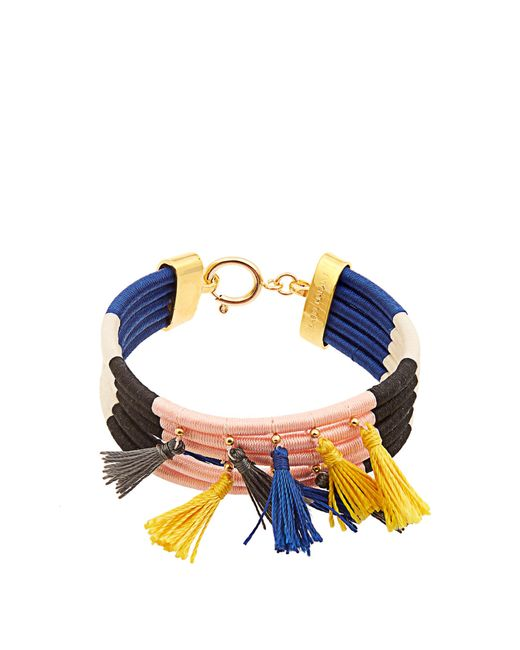 Isabel Marant | Blue The Wailers Multi-tassel Bracelet | Lyst