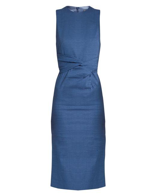 Sportmax | Blue Brunico Dress | Lyst