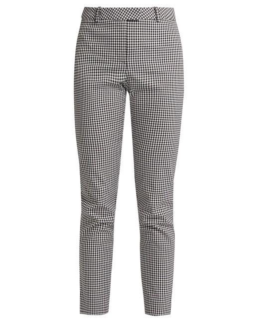 Altuzarra   Multicolor Henri Slim-leg Cotton-blend Trousers   Lyst