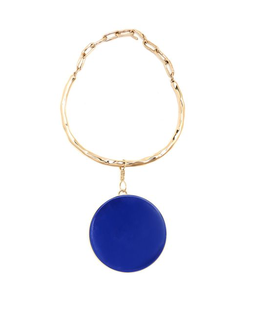 Etro | Blue Ceramic-disc Necklace | Lyst
