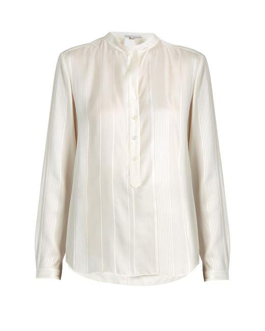 Stella McCartney | Multicolor Eva Twisted-stripe Silk Shirt | Lyst