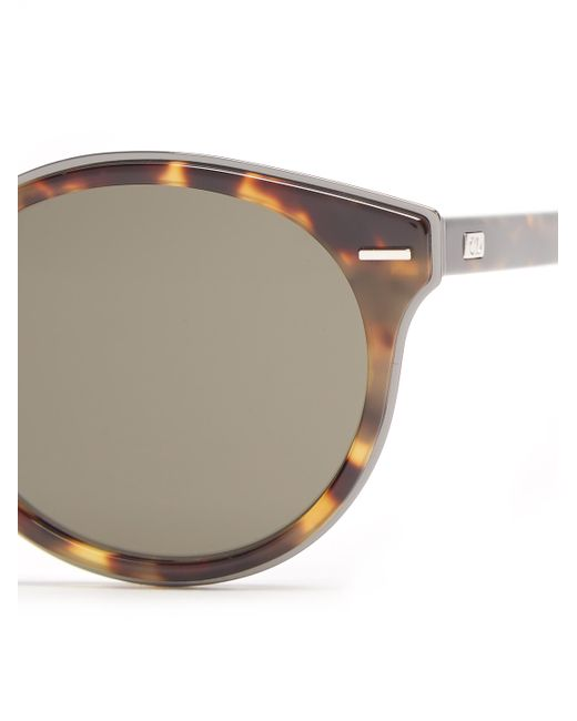 Dior homme Dior0209s Round-frame Sunglasses in Brown for ...