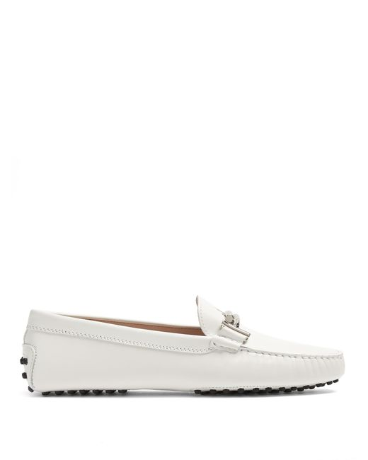 Tod's | Multicolor Gommini T-bar Leather Loafers | Lyst