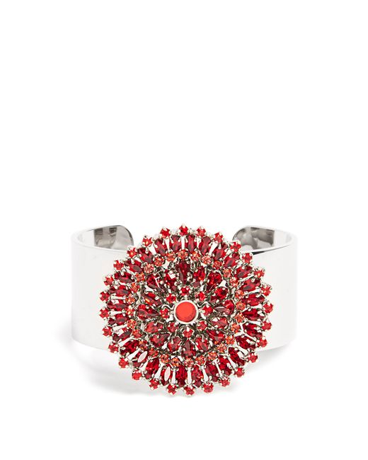 Givenchy | Red Crystal-embellished Cuff | Lyst