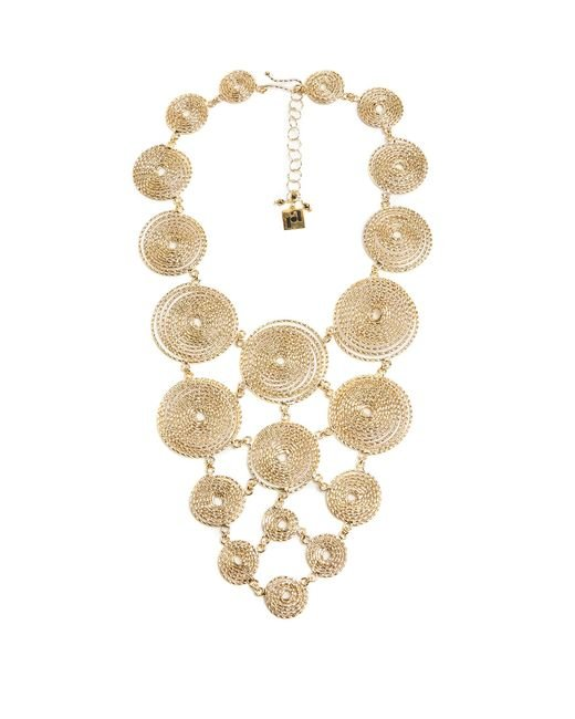 Rosantica By Michela Panero | Metallic Soffio Spiral Necklace | Lyst