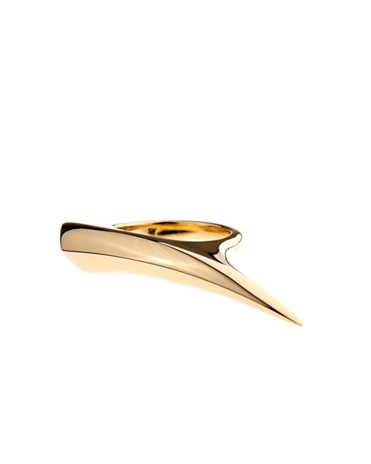 Shaun Leane - Yellow Gold Sabre Ring - Lyst