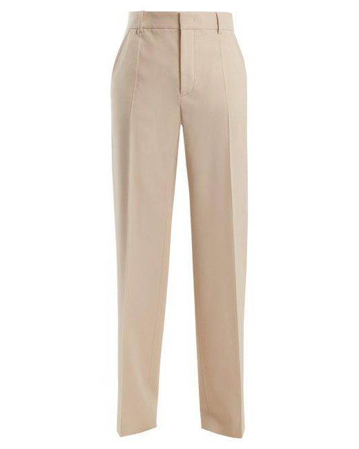 Solar Wide-Leg Wool-Blend Trousers Joseph l77FBwMixh