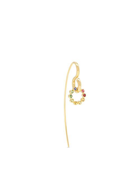 Charlotte Chesnais | Metallic Swing Hook Sapphire, Topaz & Gold Earring | Lyst
