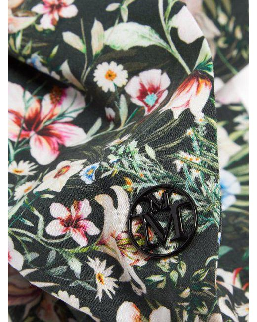 Maison Michel Calie Hawaii-print headband 8Gogvwd