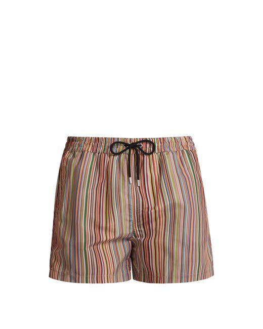 Paul Smith - Multicolor Short de bain à imprimé Signature Stripe for Men - Lyst