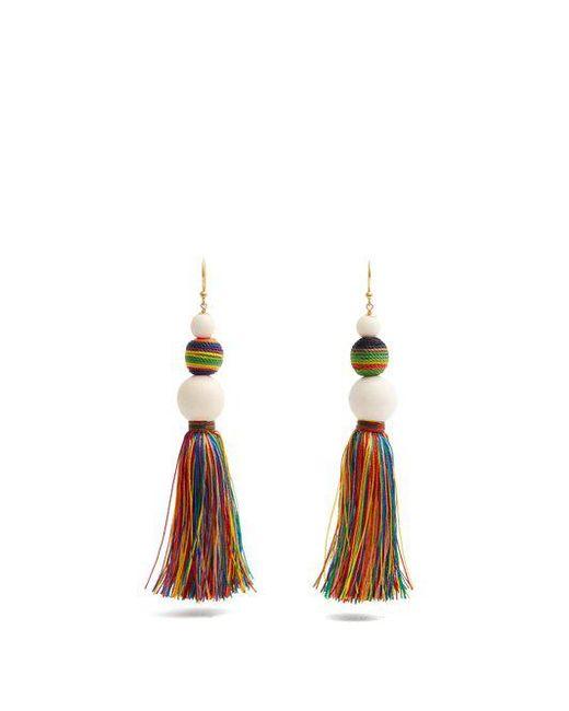 Rosantica Arlecchino tassel earrings 9GIMX87Au