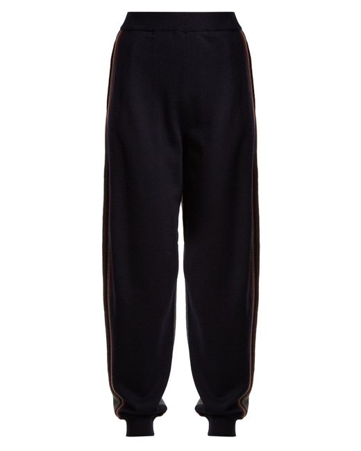 Stella McCartney - Multicolor Contrast-panel Wool Track Pants - Lyst