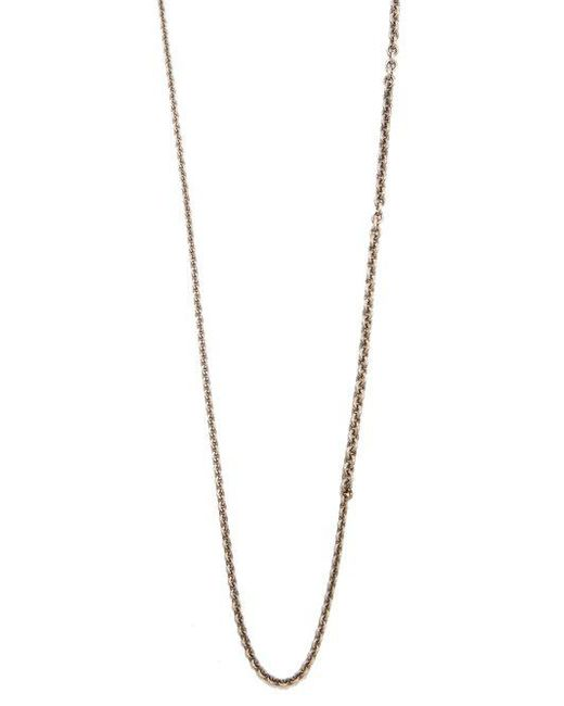 Title Of Work Cable-chain sterling-silver necklace hEQbB