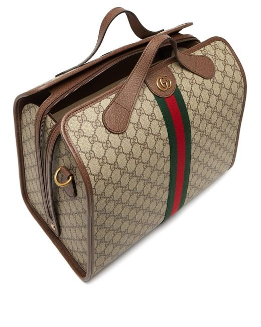 74e673c030b ... Gucci - Natural Ophidia Gg Supreme Holdall for Men - Lyst ...