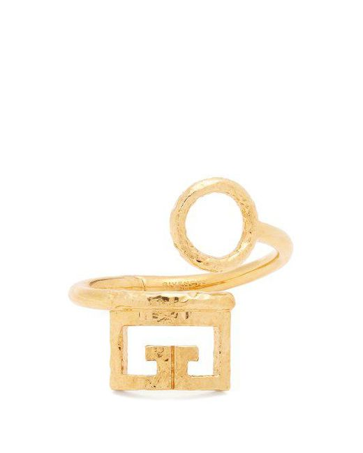 Givenchy Logo and circular cut-out cuff RwsCMZi9