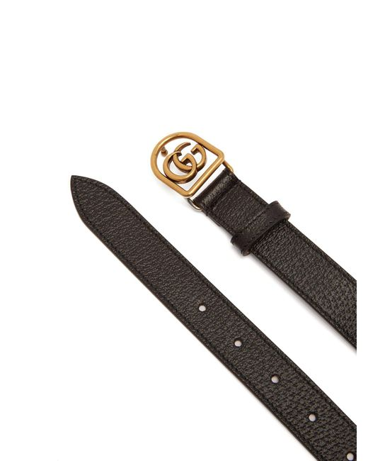 69a46d71043 Lyst - Gucci Tiger Head Leather Belt in Black for Men - Save 61%