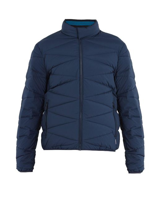 Orlebar Brown - Blue Newland Quilted-down Jacket for Men - Lyst