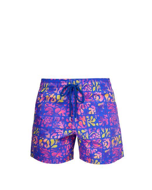 Vilebrequin - Purple Short de bain à imprimé Phuket Moorea for Men - Lyst