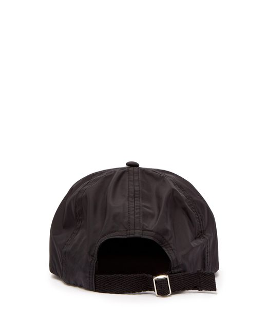 1bb59e2db5d Acne Studios Covia Face Nylon Baseball Cap in Black for Men - Lyst
