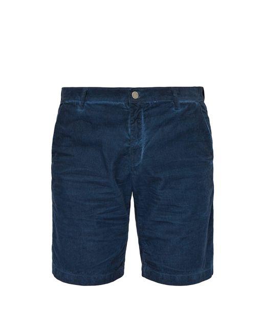 Massimo Alba - Blue Short en velours côtelé de coton aquarelle for Men - Lyst