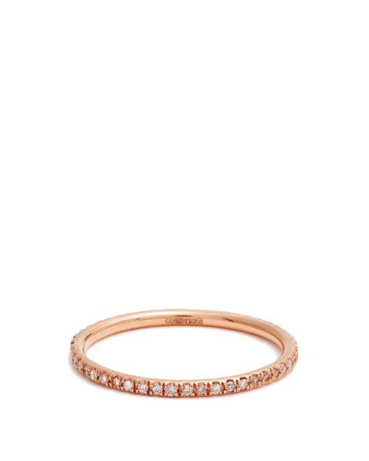 Ileana Makri   Multicolor Diamond & Pink-gold Ring   Lyst