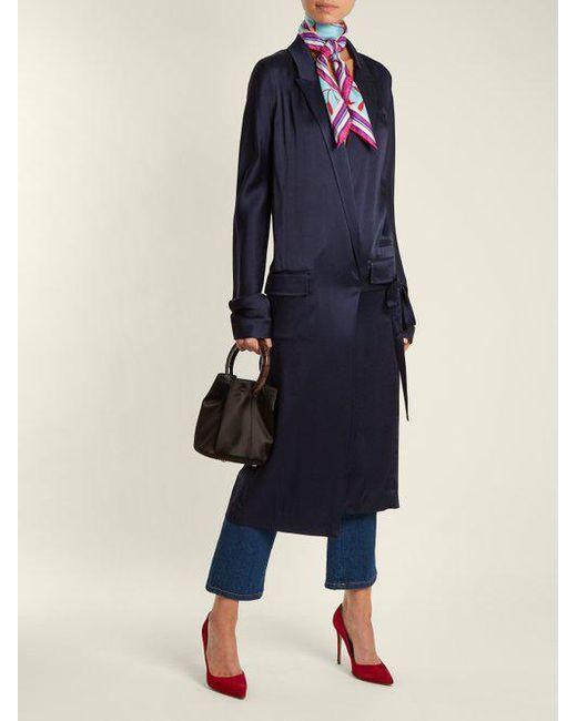 Shelton-print silk scarf Diane Von F IzUK8e4